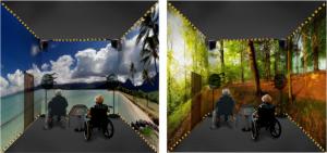 Görme engelliler için sanal gerçeklik