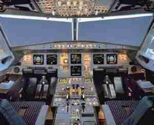 Glass Cockpit A320 2