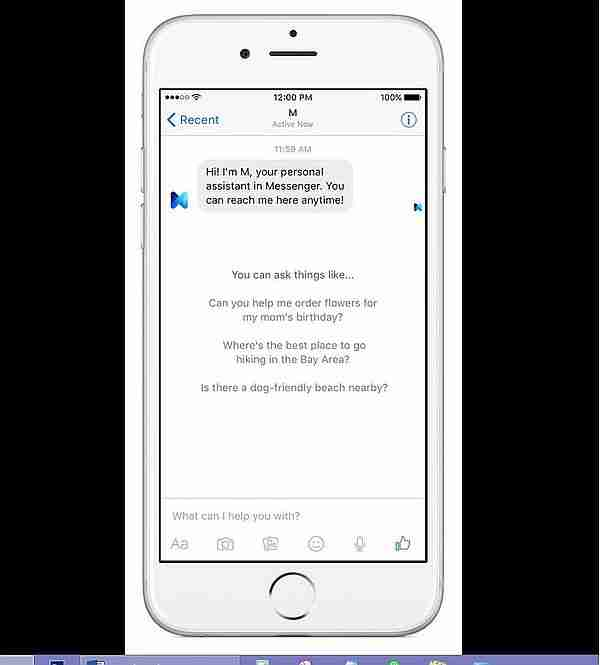 Facebook Messenger M 1