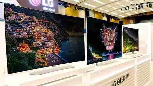 LG Samsung 4K HDR TV 1