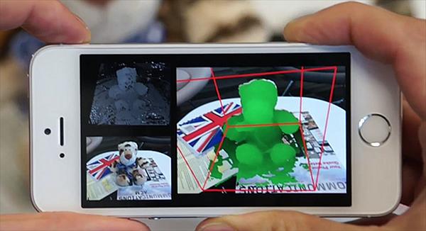microsoft 3B selfie mobilefusion 6