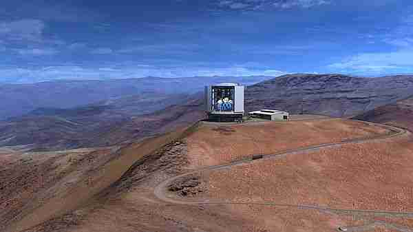 Dev Magellan Teleskopu 4