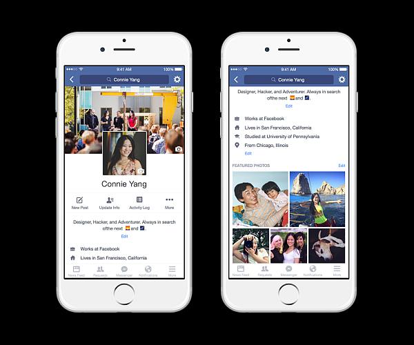 Facebook profil 3