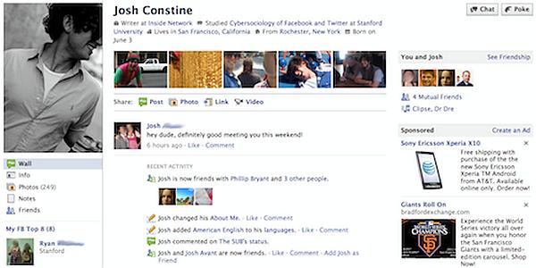 Facebook profil 5