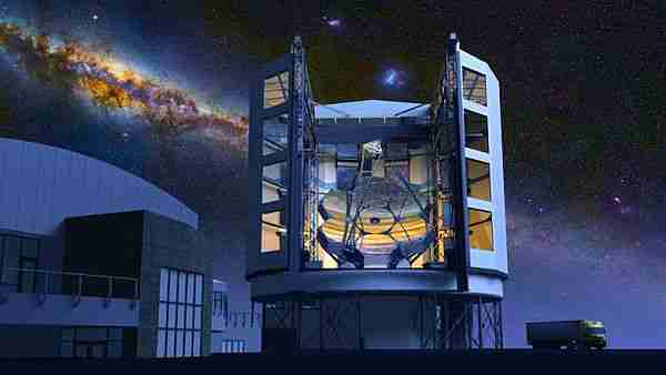 dev magellan teleskopu 8