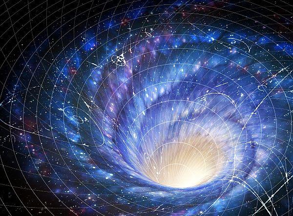Genel görelilik kara deliklerin uzay-zamanı nasıl büktüğünü açıklıyor.
