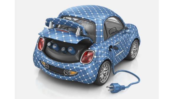 Arabayı duvar kağıdı döşer gibi esnek güneş paneliyle kaplayabilir veya grafenle boyayabilirsiniz.