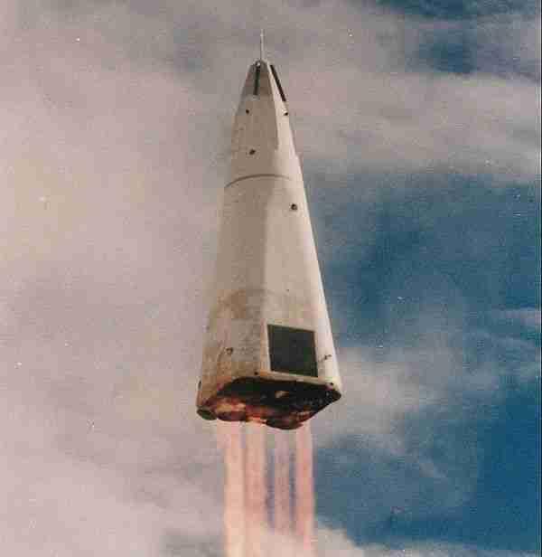 Delta Clipper roketi tek kademe ile uzaya çıkamadı.