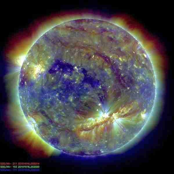Güneş-corona-korona-kara_delik-nasa
