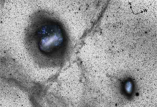 Çarpışan-galaksiler-samanyolu-büyük-macellan-ile-çarpışacak-mı